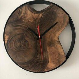 Часы настенные - Часы в стиле лофт в ободе, 0