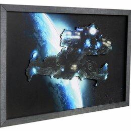 Картины, постеры, гобелены, панно - Battlecruiser StarCraft (54 х 35 см), 0