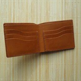 Кошельки - Портмоне кошелёк бумажник натуральная кожа, 0