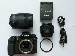 Фотоаппараты - Canon EOS 80D + 2 объектива (18-135mm и 50mm), 0