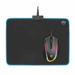 Коврики для мыши - Игровой коврик Trust GXT 762 Glide-Flex RGB, 0