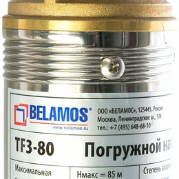 Насосы и комплектующие - Насос скважинный Belamos TF3-80, 0