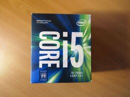 Процессоры (CPU) - Intel Core i5-7600 3.5 ГГц 6 Мб LGA1151 BOX Новый, 0