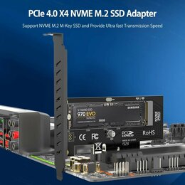 Внутренние жесткие диски - AMPCOM M.2 NVMe SSD, 0