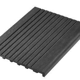 Древесно-плитные материалы - Ступень и террасная доска из дпк вельвет полнотелая , 0