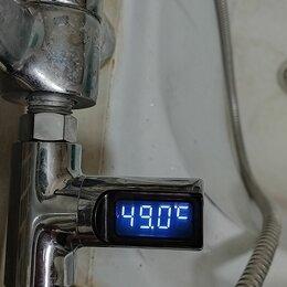 Приборы и аксессуары - Электронный термометр для душа, 0