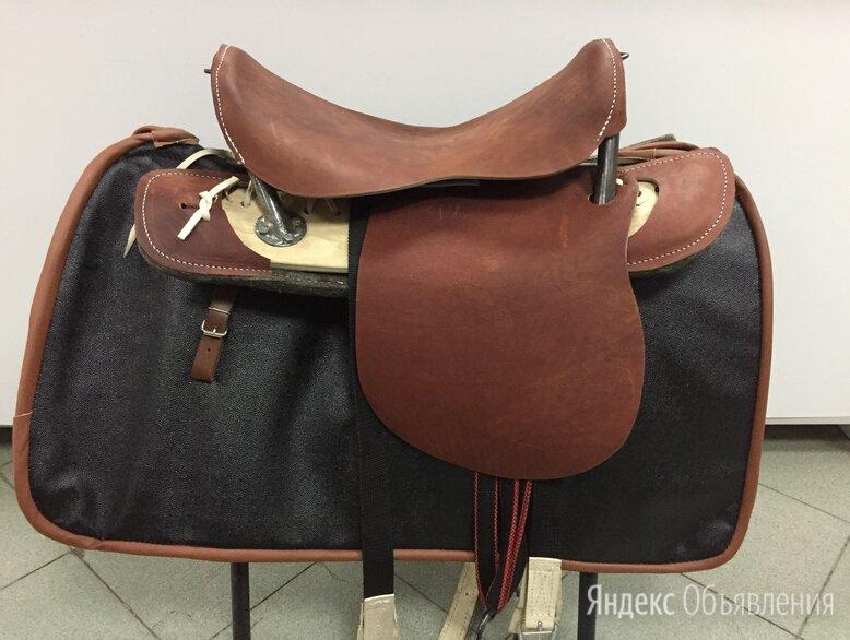 Седло для лошади кавалерийское по цене 6350₽ - Товары для сельскохозяйственных животных, фото 0