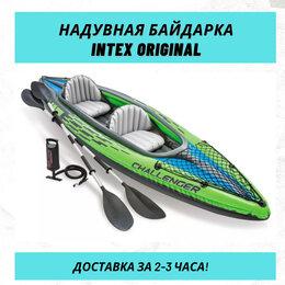 Надувные, разборные и гребные суда - Двухместная надувная байдарка лодка надувной каяк , 0
