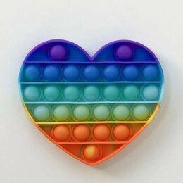 Игрушки-антистресс - Pop it сердце, 0