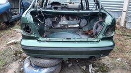 Кузовные запчасти - Бампер задний Nissan Almera N15 2000г хетчбек…, 0