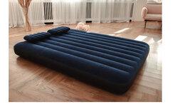 Надувная мебель - Кровать надувная, ручной насос, 2 подушки,…, 0