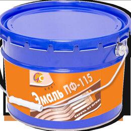 Эмали - Эмаль ПФ-115 (10 кг.)  ГОСТ 6465-76, 0