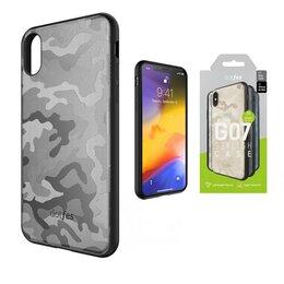 Чехлы - Чехол Apple iPhone Xs Max DOTFES G07 Camouflage…, 0