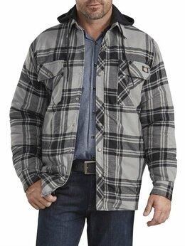 Куртки - Стеганая фланелевая куртка-рубашка Dickies, 0