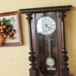 Часы настенные - Часы ходики старинные немецкие., 0