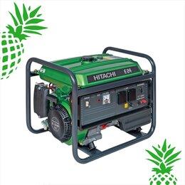 Электрогенераторы и станции - Бензиновый генератор Hitachi E40 (3P) (3300 Вт) , 0