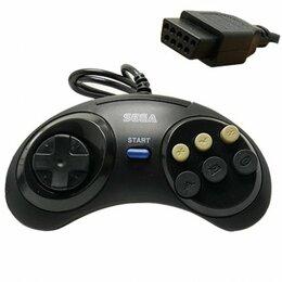 Аксессуары - Джойстик Sega 16bit Controller Black, 0