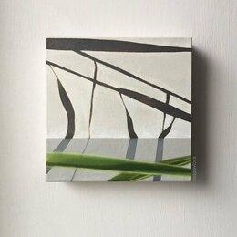 Картины, постеры, гобелены, панно - Геометрия тростника. Картина маслом., 0