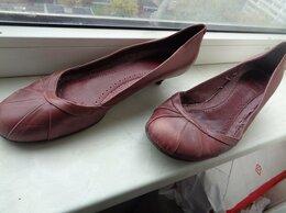 Туфли - Испания,нат.  кожа р.40 низкий каблук, 0