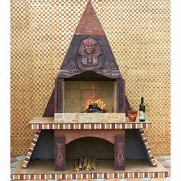 Грили, мангалы, коптильни - Печь барбекю №8 Египетская пирамида, 0