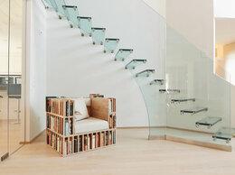 Лестницы и элементы лестниц - Стеклянные лестницы, 0
