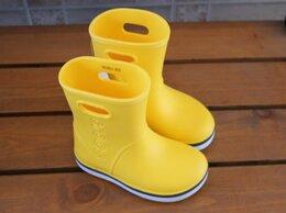 Резиновые сапоги и калоши - Детские резиновые сапоги Crocs Crocband Rain Boot, 0