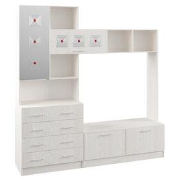 Шкафы, стенки, гарнитуры - Стенка Ронда ЦСР 2000.1 с зеркалом Анкор, 0