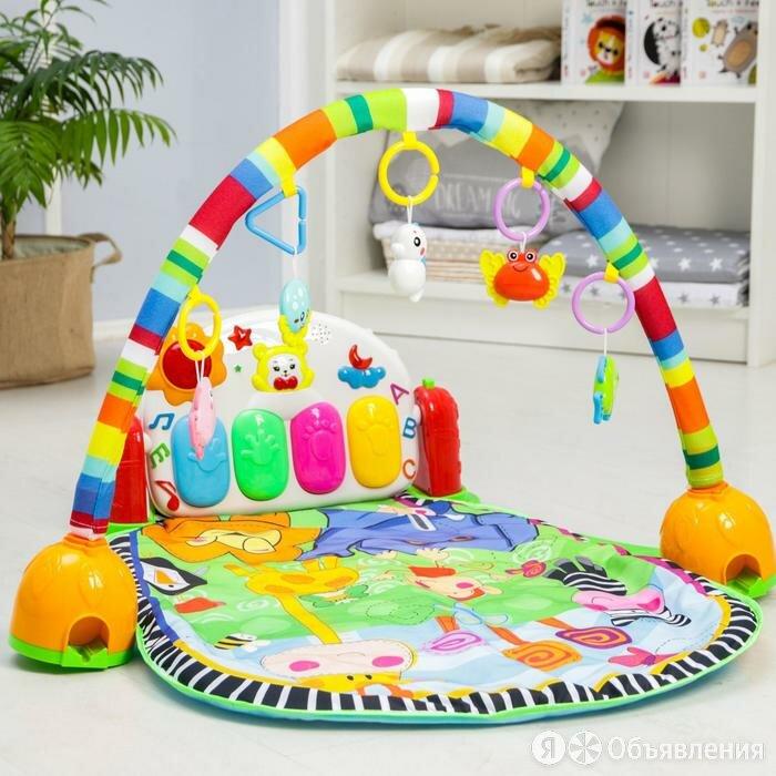 Развивающий коврик музыкальный 'РазвивайКа', с пианино и проектором, 94х62х0,... по цене 3919₽ - Развивающие игрушки, фото 0