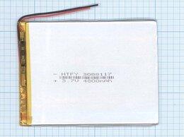 Аккумуляторы - Аккумулятор Li-Pol (батарея) 3*88*117мм 2pin…, 0