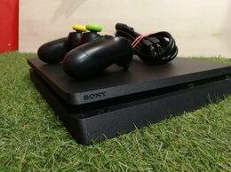 Игровые приставки - Консоль Ps 4 Slim 500Gb Приставка +1 Геймпад, 0