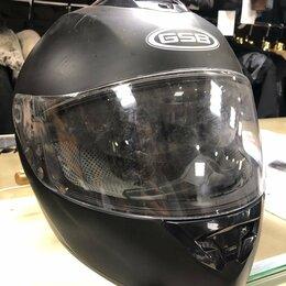 Шлемы - Шлем интеграл с очками G-350 c гарнитурой, 0