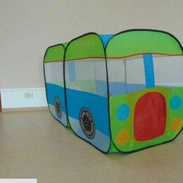 Игровые домики и палатки - Игровая палатка для детей автобус, 0