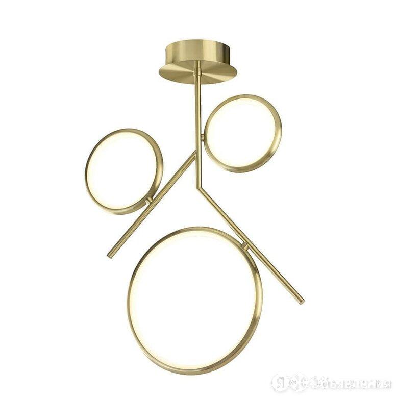 Подвесная светодиодная люстра Mantra Olimpia Oro 6581 по цене 57860₽ - Люстры и потолочные светильники, фото 0