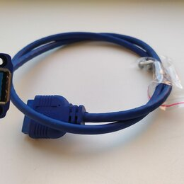 Компьютерные кабели, разъемы, переходники - Кабель usb 3.0 для подключения к материнской плате, 0