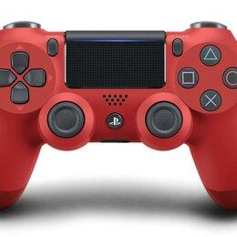 Аксессуары - Геймпад Playstation 4 Красный (Red) V2 б/у, 0