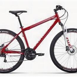 Обода и велосипедные колёса в сборе - Велосипед FORWARD SPORTING 27,5 3.0 disc  темно-красный/серый, 0