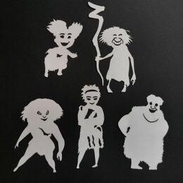 Обучающие материалы и авторские методики - Семейка Крудс детская развивающая игра теневой театр теней, 0