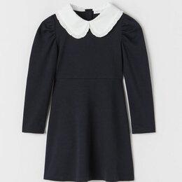 Платья и сарафаны - ZARA платье школьное синее для девочки, 0