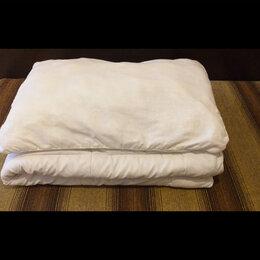 Постельное белье - Одеяла, подушки, постельное белье белое и сиреневое, 0