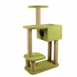 Когтеточки и комплексы  - Домик для кошки, когтеточка, игровой комплекс, 0
