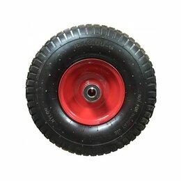 Обода и велосипедные колёса в сборе - Колесо запасное для тачки пневмо 6,00-6 с подшипником Скорпион, 0