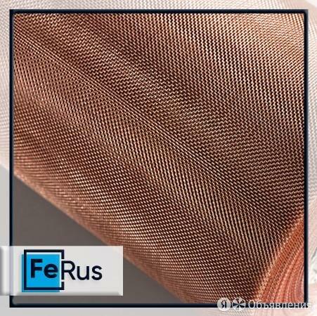Сетка фильтровая бронзовая 1х0,4 мм ГОСТ 2715-75 от Феруса по цене 890₽ - Металлопрокат, фото 0