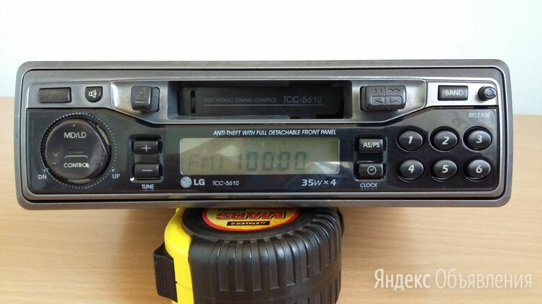 Магнитола LG TCC-5610  по цене 300₽ - Музыкальные центры,  магнитофоны, магнитолы, фото 0