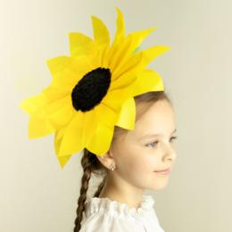 Прочее оборудование - Цветок – головной убор подсолнух ВК-93001-8, 0