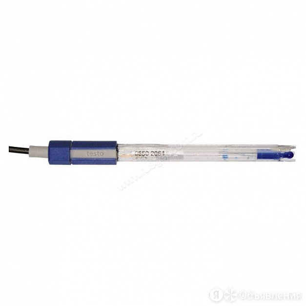 Электрод Testo для измерений температуры в воде и сточных водах, пластиковый ... по цене 23900₽ - Лабораторное и испытательное оборудование, фото 0