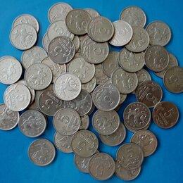 Монеты - 64 монеты России по пять копеек разные года и мд, 0