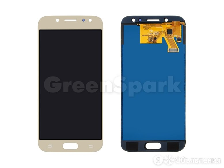 Дисплей для Samsung J530F Galaxy J5 (2017) + тачскрин (золото) (copy LCD с ре... по цене 1350₽ - Дисплеи и тачскрины, фото 0