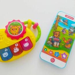 Развитие мелкой моторики - Две детские музыкальные игрушки Азбукварики, 0