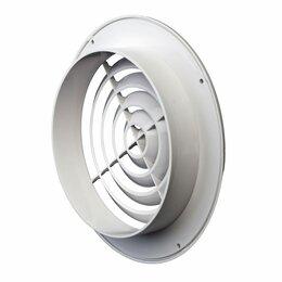 Вентиляционные решётки - Пластмассовая круглая решетка Эвент ПКС 145/100, 0