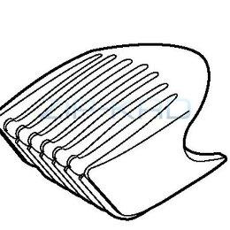 Ножи и насадки для газонокосилок - Насадка на триммер ER224, 0